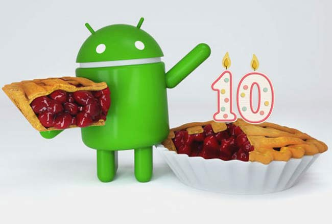 جشن تولد 10 سالگی برای گوشی های هوشمند اندروید