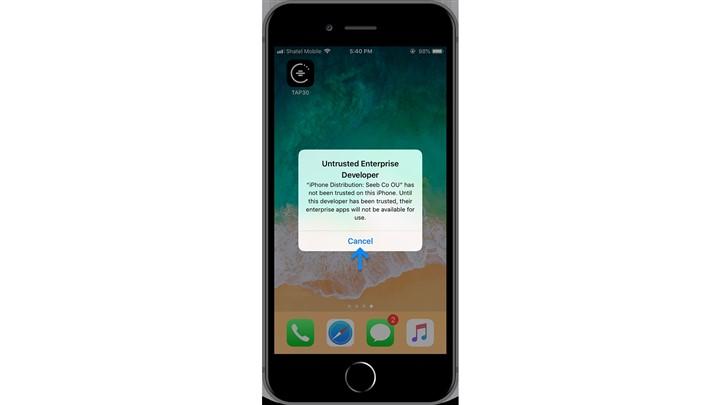 راه حل تپ سی برای برطرف کردن محدودیت های اپل