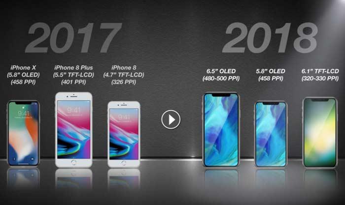 اپل این سه گوشی را در 2018 می سازد +عکس