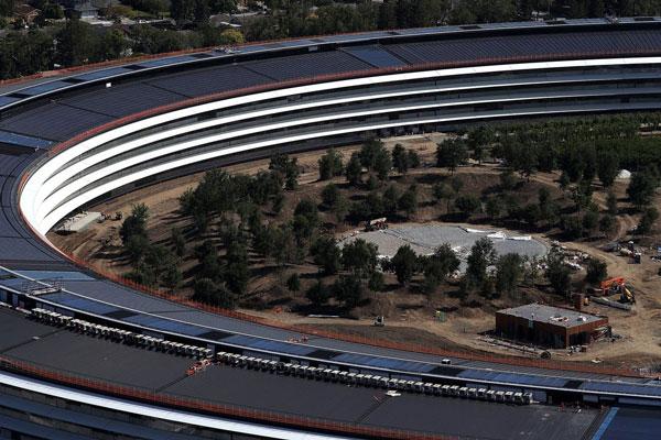 دفتر مرکزی مدرن اپل دردسرساز شد