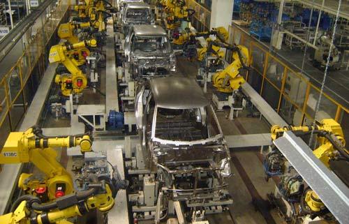 تولید خودرو در امریکا کاهش یافت