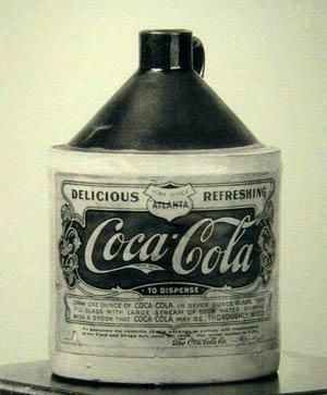نوشابه کوکاکولا در سال 1906 +عکس