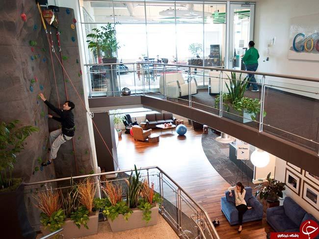 تصاویری از دفتر کار گوگل