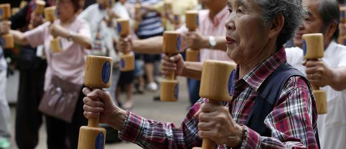 اقتصاد ژاپن در خطر رشد جمعیت سالمند
