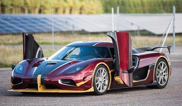 سریعترین خودروی جهان رونمایی شد +عکس