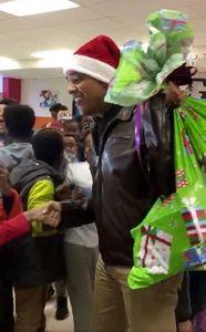 باراک اوباما در نقش بابانوئل!