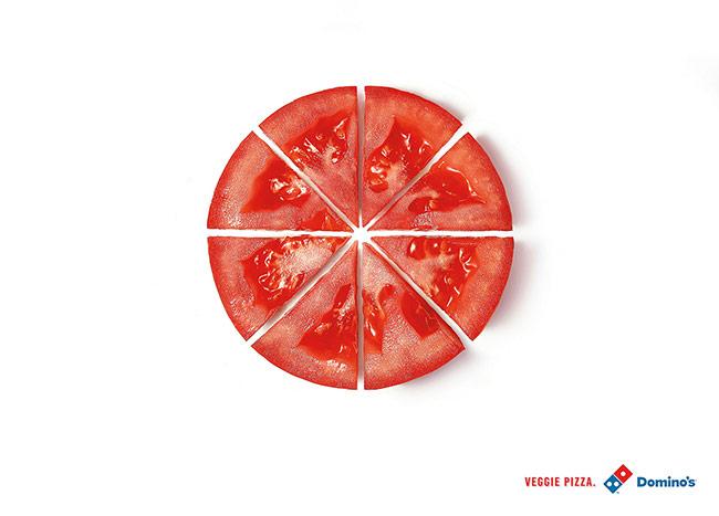 تبلیغ پیتزا دومینو