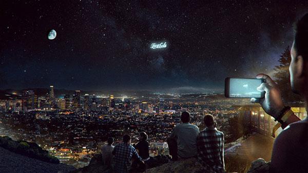 نمایش تبلیغات شرکت ها از فضا توسط استارتآپ روسی