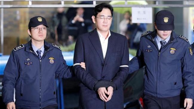 دستگیری مدیرعامل سامسونگ به اتهام فساد مالی