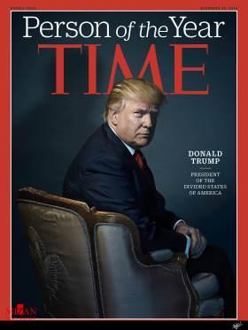 دونالد ترامپ؛ «شخصیت سال» از نگاه تایم