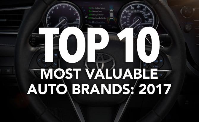 تویوتا همچنان در صدر باارزش ترین برندهای خودرو